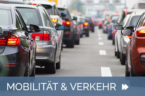 Themenbild Startseite Mobilität und Verkehr