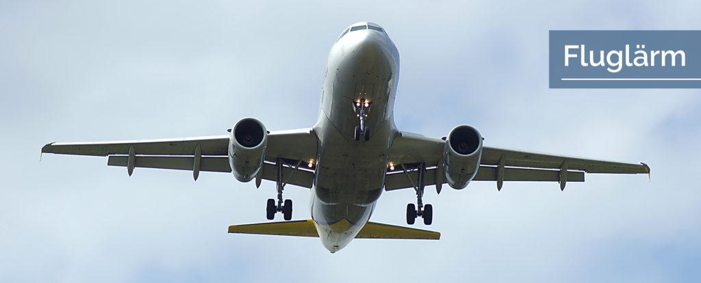 Titelbild Fluglärm