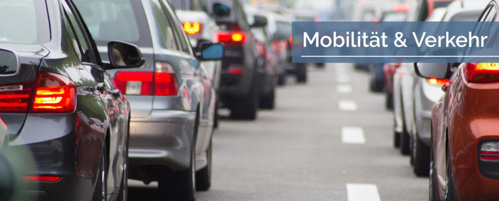 Titelbild Mobilität und Verkehr
